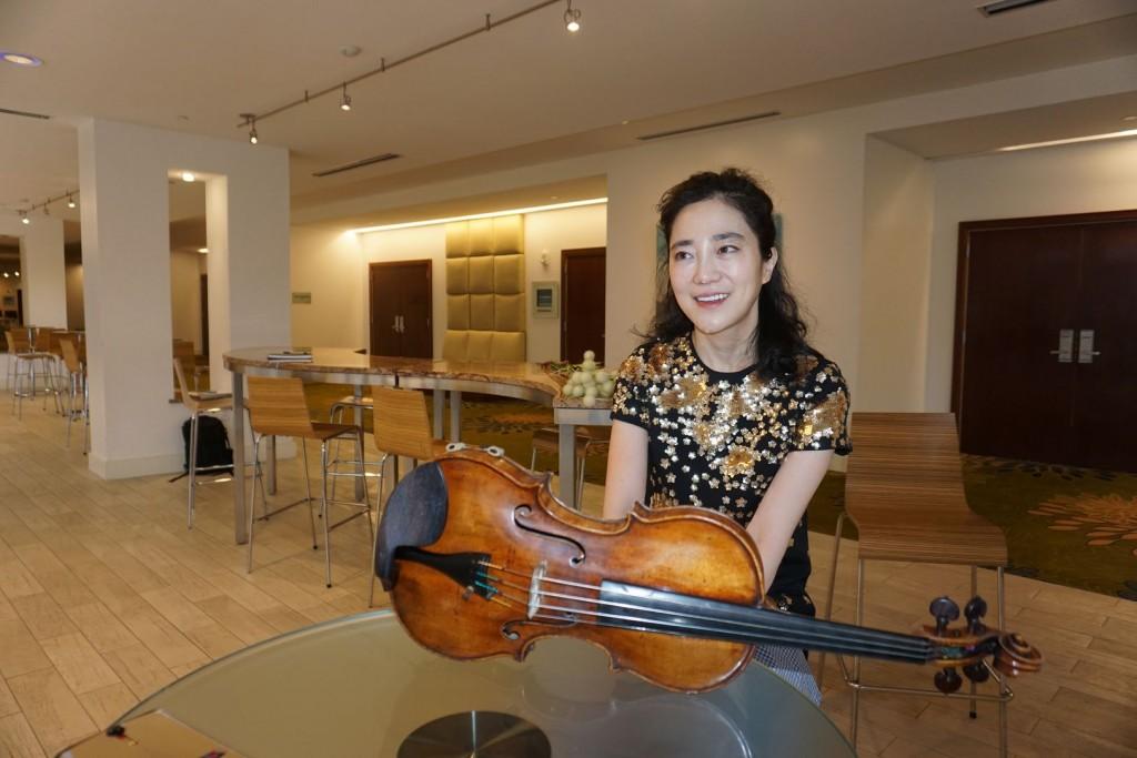 세계적 바이올리니스트 박지혜 | 워싱턴 공연 앞두고 단독 인터뷰 |16일 오후 5시 와싱톤중앙장로교회